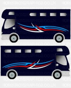 Horsebox Trailer Decorative Stripe Sticker 10