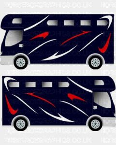 Horsebox Trailer Decorative Stripe Sticker 12