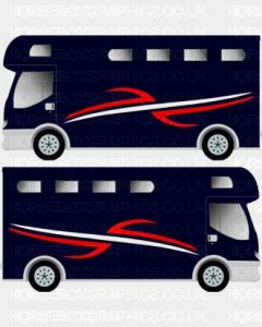 Horsebox Trailer Decorative Stripe Sticker 6