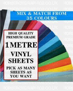 GALLOWAY CRAFTS Vinyl Sheets 1 metre Size