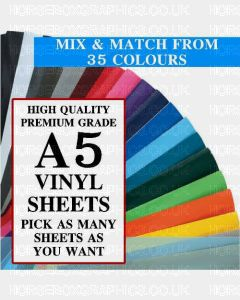 GALLOWAY CRAFTS Vinyl Sheets A5 Size