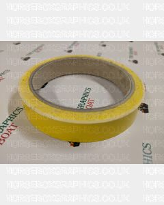 10m of 17mm Yellow Tape